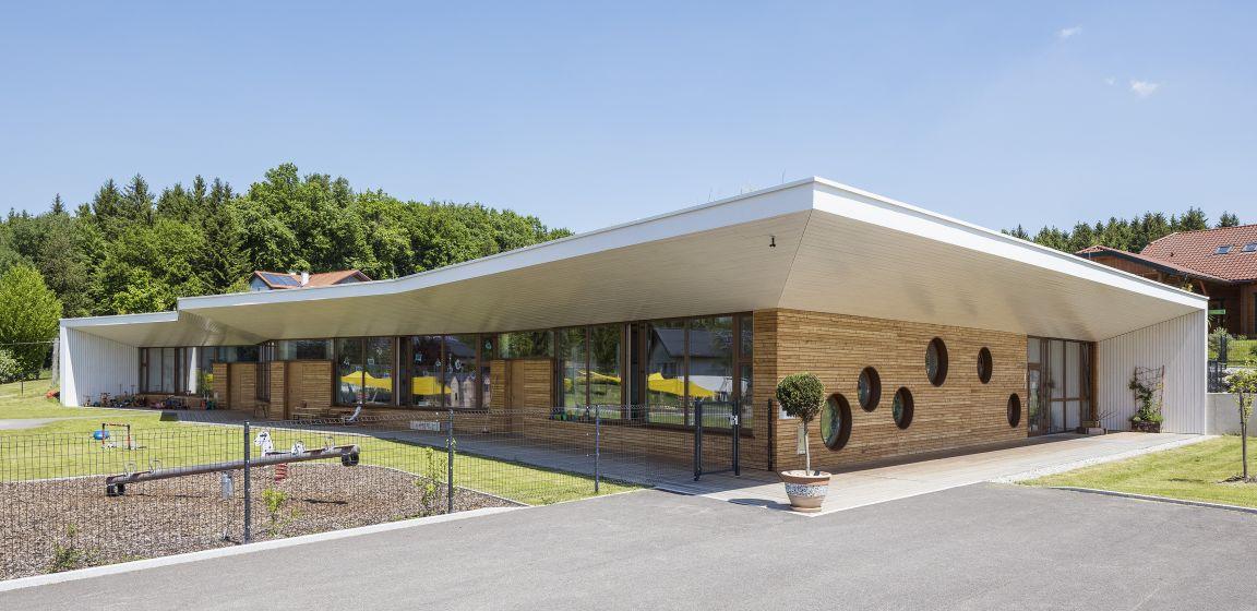 Neubau Kindergarten Moosdorf | PM1 - die unabhängigen bauprojektmanager